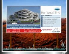 Herrwood Skye Development Signboard